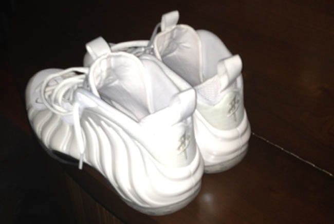 137a54ae509 low-cost Penny Hardaway Debuts Nike Air Foamposite One White Memphis  Madness PE