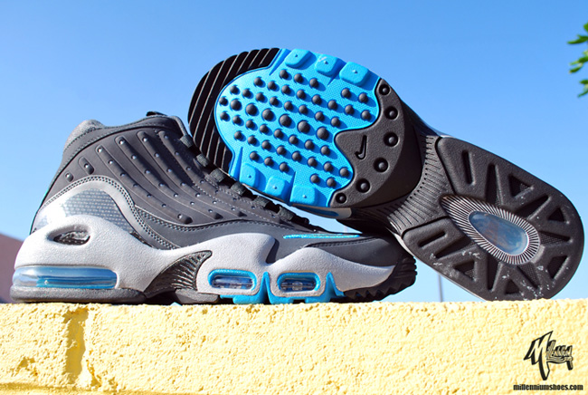 online retailer f73fa 912b8 Nike Air Griffey Max II (2) - Anthracite/Turquoise - October 2011 ...
