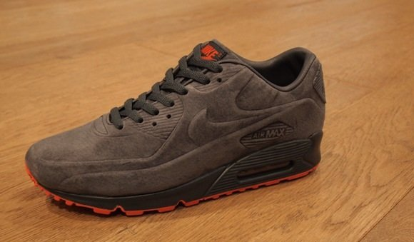 air max 90 grey suede