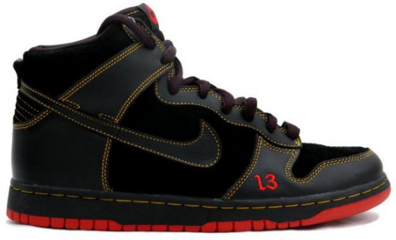 Nike Dunk SB High Unlucky Halloween Sneakers