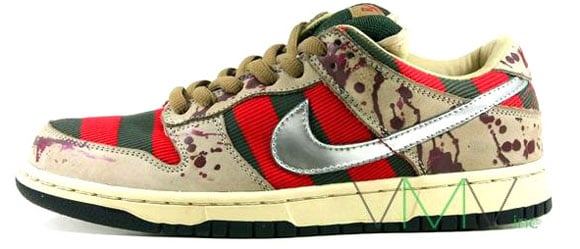 Nike Dunk SB Low Freddy Krueger Halloween Sneakers