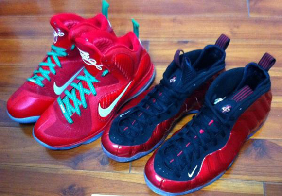 Nike LeBron 9 Christmas Day First Look