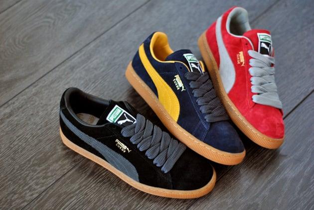 Puma Suede 'Gum' Pack - Fall 2011
