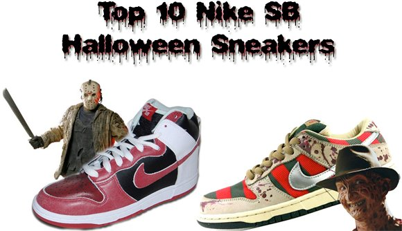 Top 10 Nike SB Halloween Sneakers