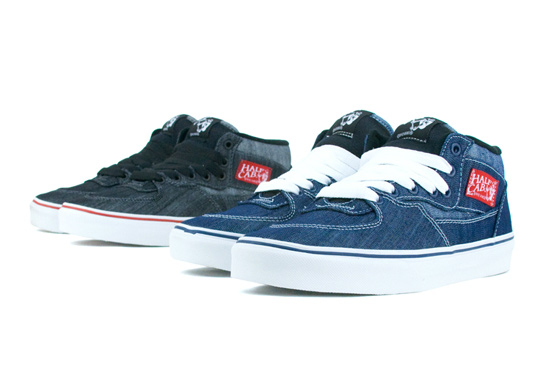 Vans Classic Denim Pack Fall/Winter 2011 - Half Cab & Era