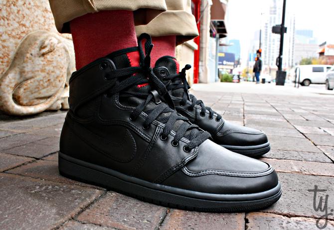 Air Jordan 1 KO Lux - Black/Anthracite
