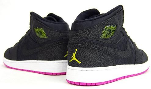 Air Jordan I Phat GS - Black/Pink