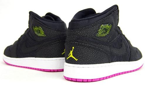 Air Jordan I Phat GS - Black/Pink