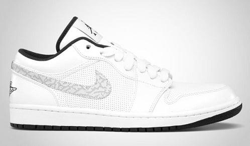 Air Jordan I Phat Low White/Anthracite - December 2011