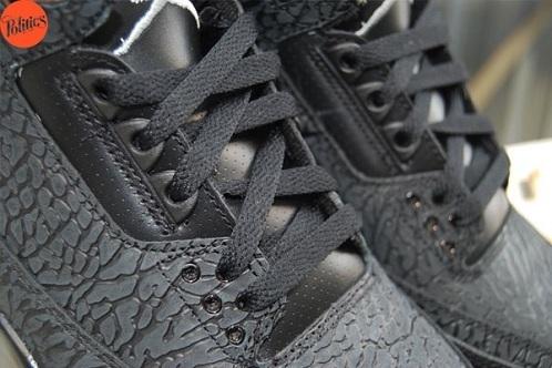 Air Jordan III (3) Black Flip - Another Look