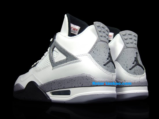 Air Jordan IV (4) Retro White/ Cement 2012 - New Images
