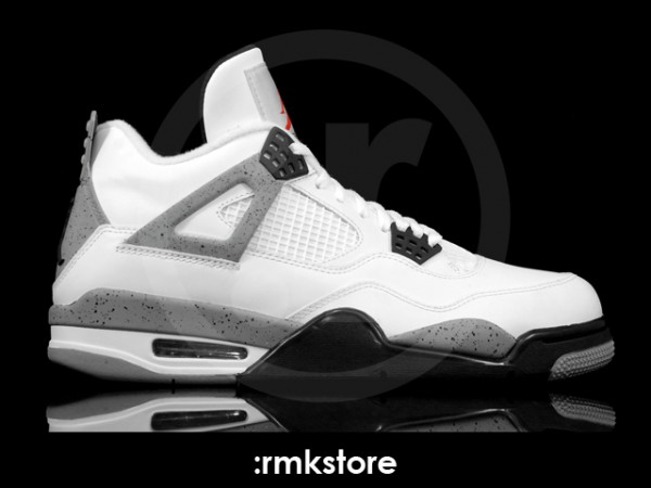 Air Jordan IV Retro - White Cement - Another Look  9c5178e031