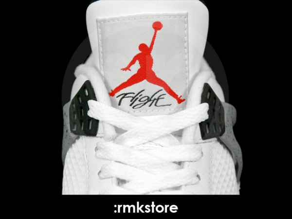 Air Jordan IV Retro - White/Cement - Another Look
