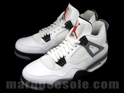 sale retailer 7f8a6 3912b Air Jordan Retro IV (4) White Cement - Another Look