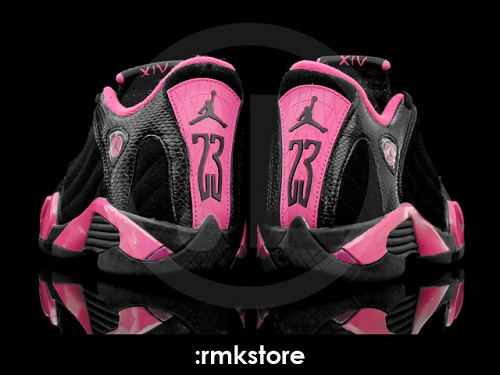 Air Jordan Retro XIV (14) GS Black/Desert Pink - Another Look