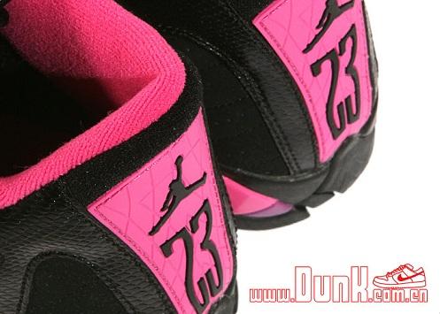Air Jordan Retro XIV (14) GS Black/Desert Pink - More Images