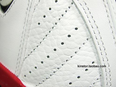 Air Jordan Retro XIV (14) White/Sport Red-Black - A Closer Look