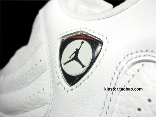 Air Jordan Retro XIV (14) White/Sport Red-Black - A Closer Look