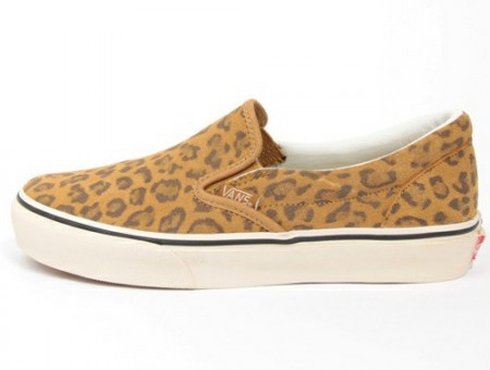 Beauty & Youth x Vans Slip-On Leopard