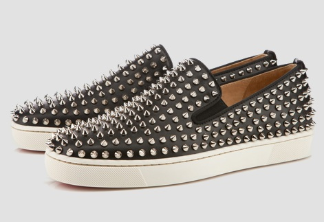the latest d293a a7605 Christian Louboutin Roller-Boat Spikes