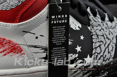 Dave White x Air Jordan I (1) Wings for the Future - More Detailed Images