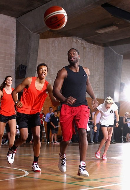 Dwyane Wade Lands in Australia and Flies in the Fly Wade 2