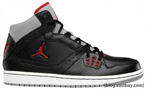 Jordan 1 Flight - Black/Cement/Red