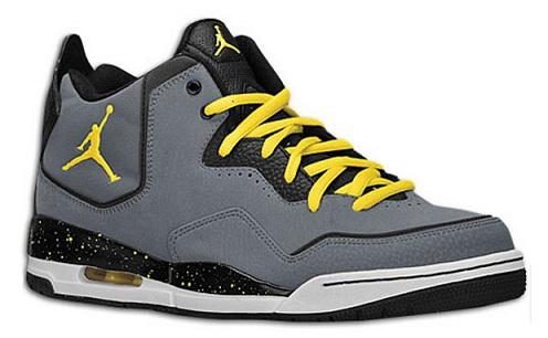 Jordan Courtside Flight - Cool Grey/Sonic Yellow-Black
