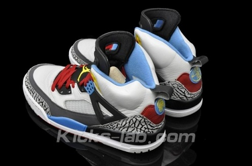 Jordan Spizike Bordeaux - Detailed Images