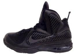 Nike LeBron 9 Blackout Now Available