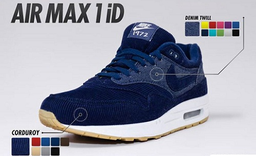 New Nike iD Air Max 1 Options