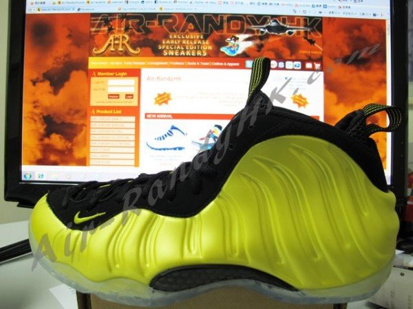 Nike Air Foamposite One Golden State - Better Look