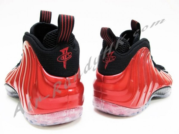 Nike Air Foamposite One Metallic Red - New Images