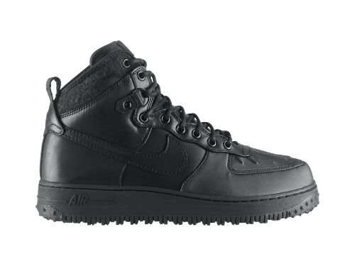 Nike Air Force 1 Duckboot - Black - Now Available
