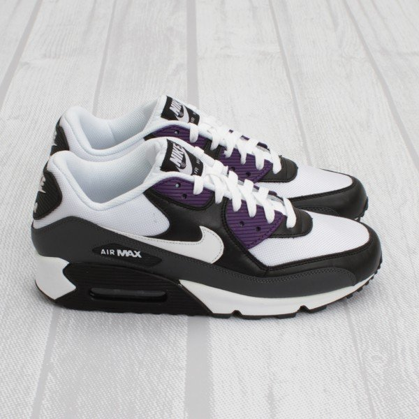 Nike Air Max 90 - Anthracite/White/Black/Purple - Now Available