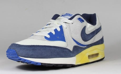 Nike Air Max Light White Blue Yellow Grey