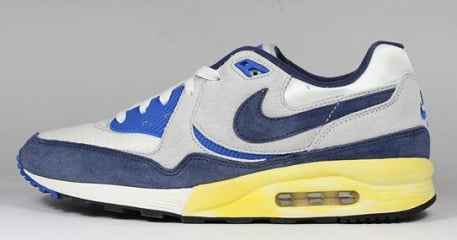 best sneakers 1a7aa 3f94b 60%OFF Nike Air Max Light Vintage QS Grey Navy Yellow