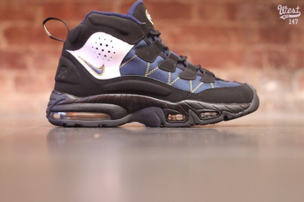 new Nike Air Trainer Max 96 Black Obsidian Canyon Gold Now Available ... b5612b378