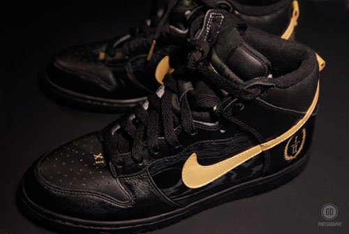 Nike Dunk High - Watch The Throne Customs