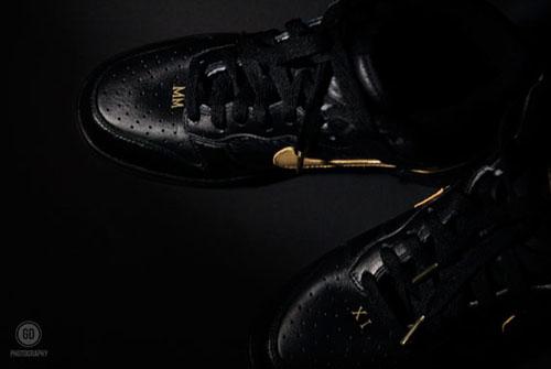 Nike Dunk High - Watch The Throne Customs