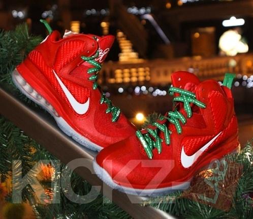 Nike LeBron 9 Christmas - More Images