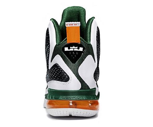Nike LeBron 9 Miami Hurricanes - Available Early