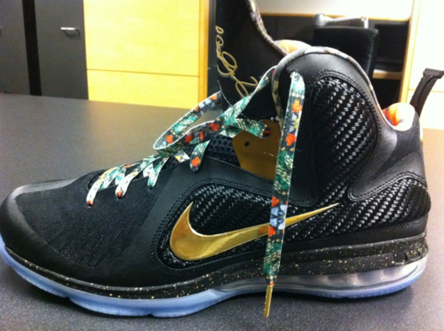 best service 24ffd f634b Nike LeBron 9  Watch The Throne  - First Look