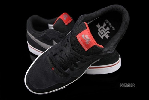 Nike SB P-Rod 2.5 - Black/Sport Red