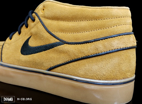Nike SB Stefan Janoski Mid - Wheat/Navy