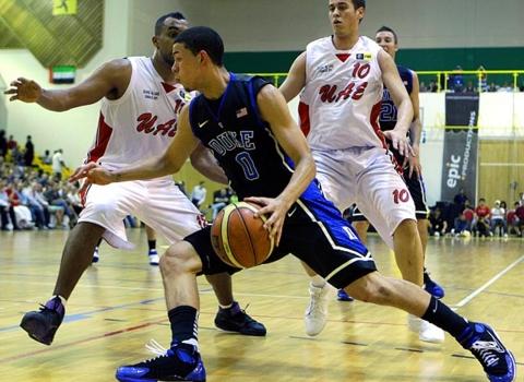 Austin Rivers Wears the Nike Zoom Huarache 2K4 iD  a01f77f3eb