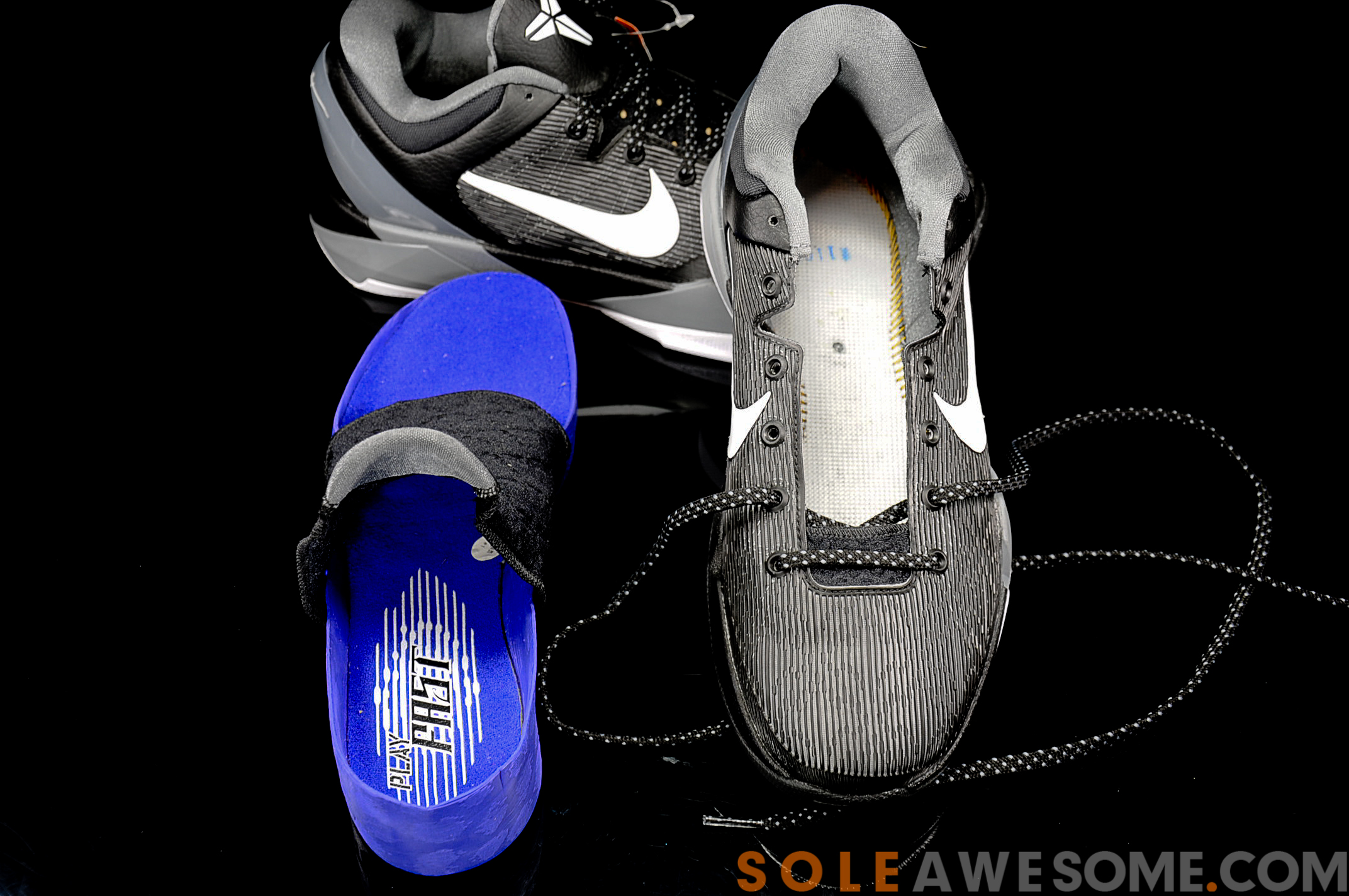 Nike Zoom Kobe VII (7) Black/ Grey- White - New Detailed Images