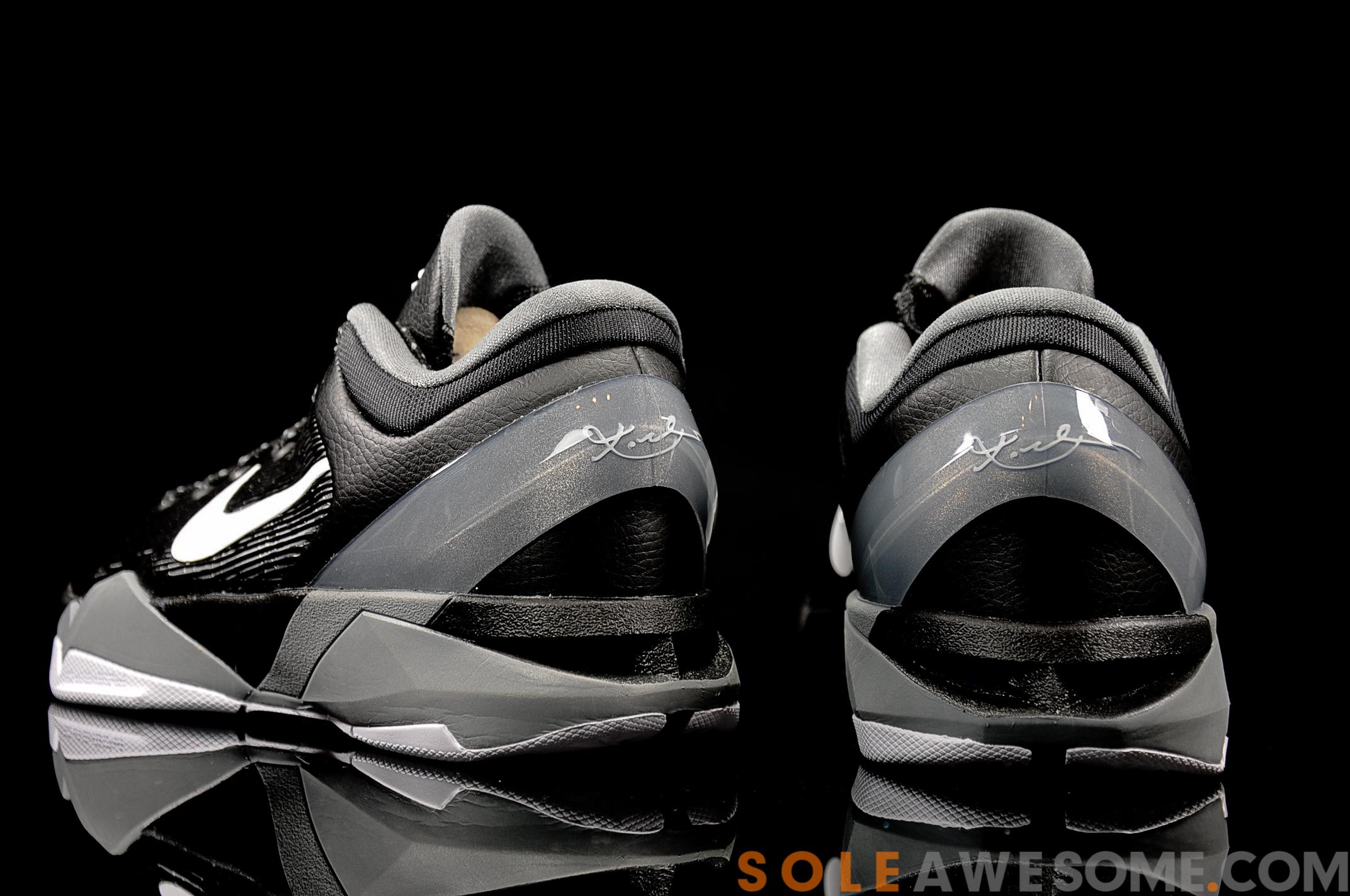 Nike Zoom Kobe 7 VII Black Red White