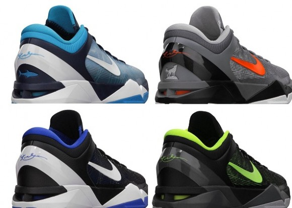 Nike Zoom Kobe VII Predator Pack