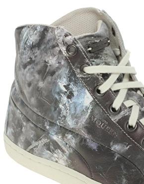 Puma x Alexander McQueen Ice Print Sneakers